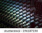 Sound Mixer Control Panel ...