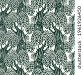 vector seamless pattern with... | Shutterstock .eps vector #1961926450