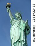 Statue Of Liberty In New York...