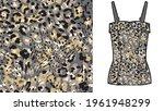 abstract animal skin leopard... | Shutterstock .eps vector #1961948299