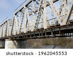 Old Railway Bridge Over The...