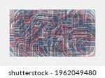 abstract geometric vector... | Shutterstock .eps vector #1962049480