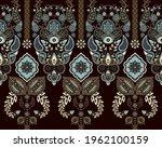 vector seamless ornament... | Shutterstock .eps vector #1962100159
