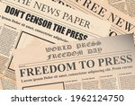 newspapers drawing for texture... | Shutterstock .eps vector #1962124750