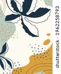 botanical  art. abstract... | Shutterstock .eps vector #1962258793