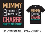 mummy thinks she's in charge... | Shutterstock .eps vector #1962295849