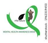 mental health awareness week...   Shutterstock .eps vector #1962319453