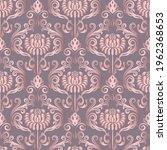 rose gold seamless vintage... | Shutterstock .eps vector #1962368653