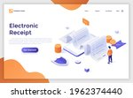 landing page template with man... | Shutterstock .eps vector #1962374440