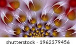 Abstract Image. Fractal. 3d....