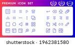 media trim modern line icon...