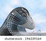 futuristic surreal design in... | Shutterstock . vector #196239164