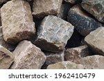 Paving stones road construction ...