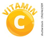 vitamin c icon. cartoon of... | Shutterstock .eps vector #1962461509