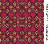 italian majolica tile.... | Shutterstock .eps vector #1962471409