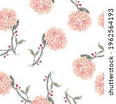 beautiful seamless pattern with ... | Shutterstock . vector #1962564193