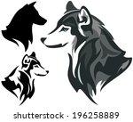 Husky Dog Design    Animal Hea...