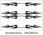 tribal tattoo | Shutterstock .eps vector #19626016