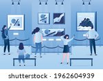 group of people enjoys new...   Shutterstock .eps vector #1962604939