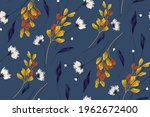 floral background  autumn...   Shutterstock .eps vector #1962672400