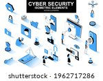 cyber security bundle of... | Shutterstock .eps vector #1962717286