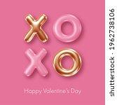 happy valentines day background.... | Shutterstock .eps vector #1962738106