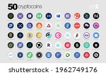 cryptocurrency or crypto coins... | Shutterstock .eps vector #1962749176