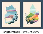 abstract colourful landscape... | Shutterstock .eps vector #1962757099