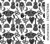 seamless celestial pattern ...   Shutterstock .eps vector #1962762466