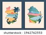 abstract colourful landscape... | Shutterstock .eps vector #1962762553