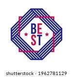 vector premium exclusive label... | Shutterstock .eps vector #1962781129