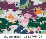 seamless colorfull camouflage... | Shutterstock .eps vector #1962799429