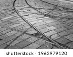 Tram Railroad Switch At An...