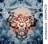 wolf   Shutterstock . vector #196299170