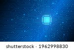 abstract circuit board...   Shutterstock .eps vector #1962998830
