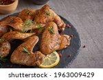 Roasted Chicken Wings In...