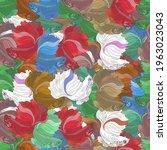 Seamless Patterns Art Of Betta...
