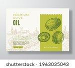 olive oil label template....   Shutterstock .eps vector #1963035043