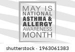 vector illustration of asthma...   Shutterstock .eps vector #1963061383