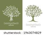 olive tree. extra virgin olive... | Shutterstock .eps vector #1963074829