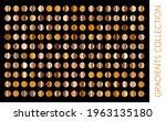 gold metal gradient collection... | Shutterstock .eps vector #1963135180