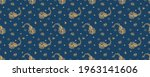 bandana print. vector seamless... | Shutterstock .eps vector #1963141606
