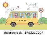 the children are having fun...   Shutterstock .eps vector #1963217209