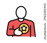client bonus color icon vector. ...   Shutterstock .eps vector #1963281943