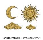 set of elements for mystical... | Shutterstock .eps vector #1963282990