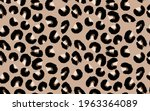 abstract modern leopard... | Shutterstock .eps vector #1963364089