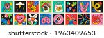 collection of crazy abstract... | Shutterstock .eps vector #1963409653