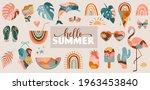 bohemian summer  modern summer... | Shutterstock .eps vector #1963453840