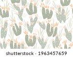Sweet Painted Cactus Garden In...
