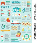 medical banner with infographic ... | Shutterstock .eps vector #1963460683
